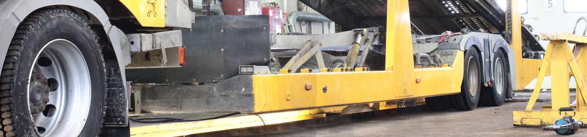 Переоборудование под ремонт автовозов